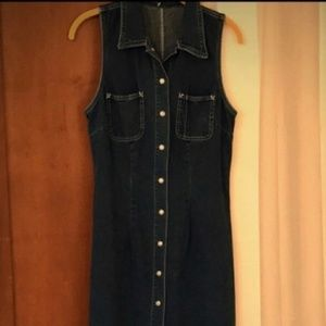 Vintage Long Denim Dress by Gap Jeans